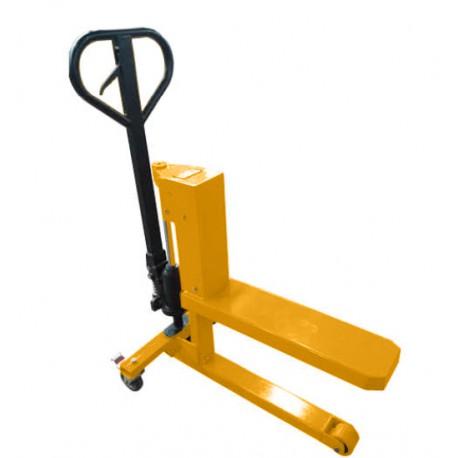 TM500 - Transpalette-Gerbeur pour quart de palette - Capacité 500 kg /300 mm