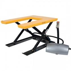 ETFU/380V - Table élévatrice fixe électrique en « U » 1000 kg / 380V