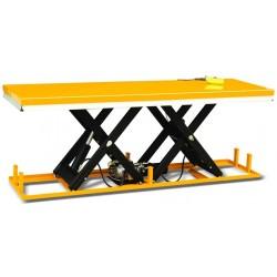 HW200D - Table élévatrice fixe électrique 2000 Kg . Plateforme 2500 x 820 mm