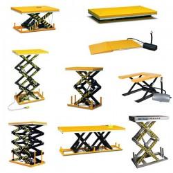TAB1 - Découvrez dans cette rubrique, la liste des tables élévatrices électriques que nous proposons sur commande.