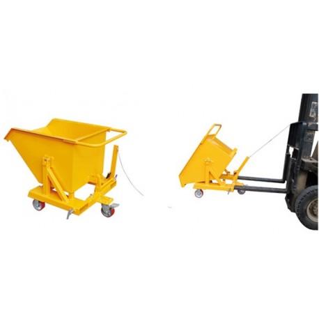 THR150 - Benne mobile basculante / Contenance : 150 L