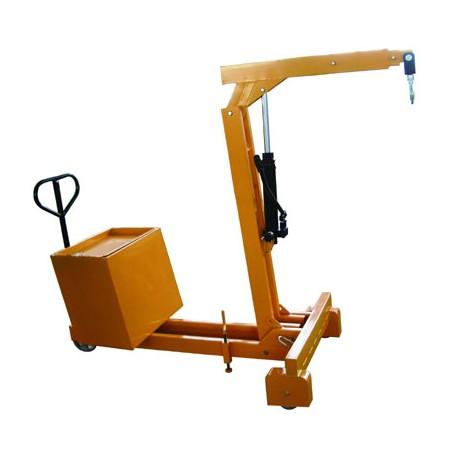 SB550 - Grue d'atelier manuelle à porte à faux / Capacité 550 kg