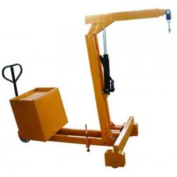 SB750 - Grues d'atelier manuelle à porte à faux / Capacité 750 kg