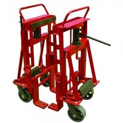 FM270A - Diable élévateur pour déplacement de charges encombrantes / Capacité 2700 kg