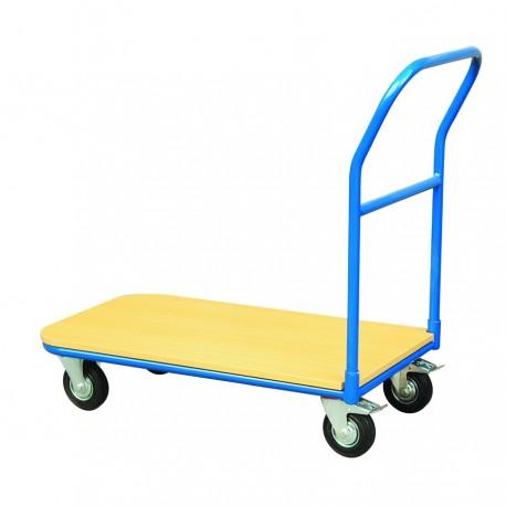 CJ20G - Chariot de manutention plateforme bois. Capacité : 200 kg