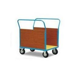 CU50C/CU50D- Chariot à 2 ridelles lattérales bois,capacité 500 kg