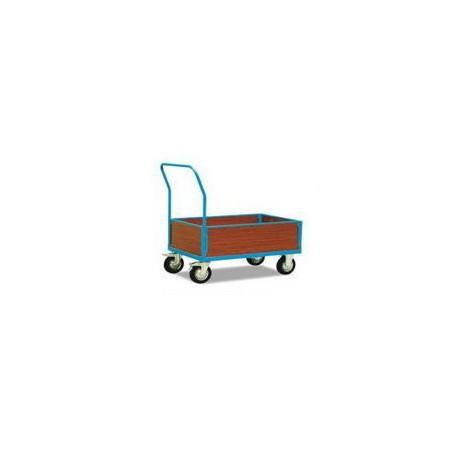 CU50A/CU50B - Chariot 4 cotés bois (bas),capacité 500 kg
