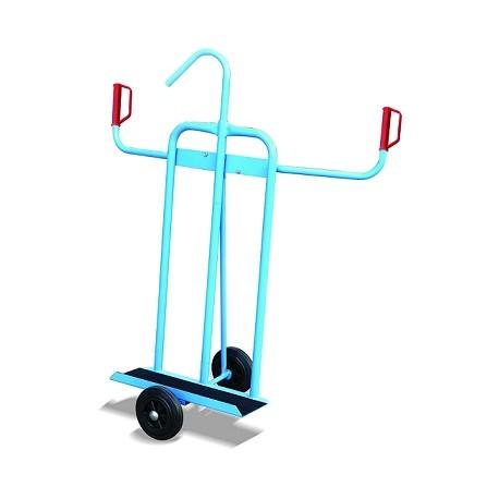 K3 - Chariot porte panneaux avec double poignées / Capacité 300 Kg