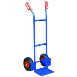 HT200P - Diable manuel 200 kg à roues pneumatiques / Plateforme 308 x 200 mm