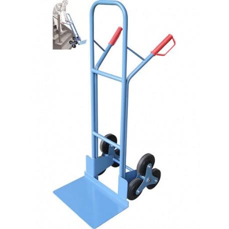 HT-S1326 - Diable manuel capacité 200 kg à 3 roues / Plateforme 480 x 300 mm