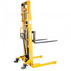 SFH1015A -Gerbeur manuel encadrant et fourches ajustables 1000 kg / 1600 mm