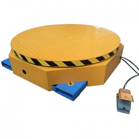 Plateforme rotative électrique
