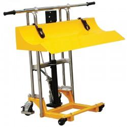 PR -Elevateur manuel pour rouleaux 400 kg / 850 mm (2 modèles)