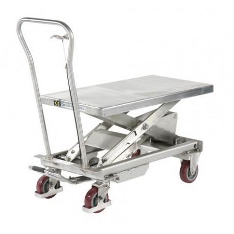 BSS - Tables élévatrices manuelle INOX (3 modèles)