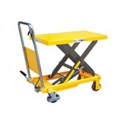 TF50 - Table élévatrice manuelle 500 kg . 855 x 500 mm
